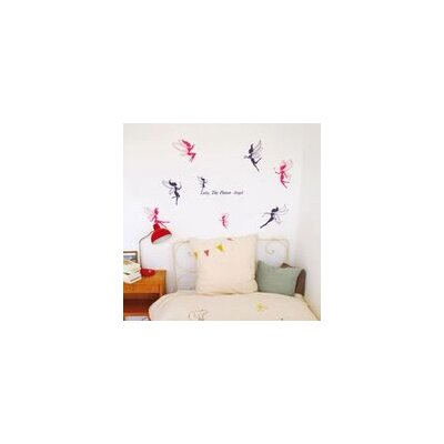 Walplus Deluxe Fairy Wall Sticker