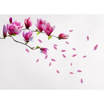 Walplus Magnolia Flowers Wall Sticker