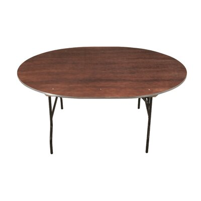 """Circular Conference Table Size: 30"""" H x 30"""" W x 30"""" D, Top Finish: Grey Glace"""