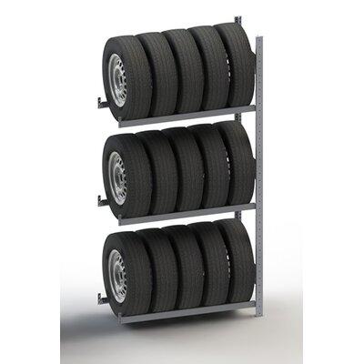 "Clip S3 Tire Rack Add-on Unit (Set of 3) Size: 79"" H x 48"" W x 16"" D"