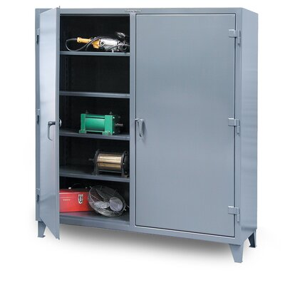 """78""""H x 72""""W x 24""""D 2 Door Storage Cabinet"""
