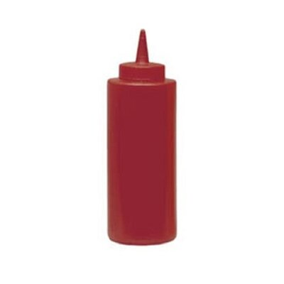 8 oz Squeeze Bottle Color: Red