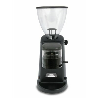 Doserless Electric Flat Burr Coffee Grinder Color: Dark Black