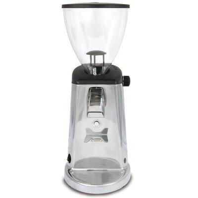 Doserless Flat Burr Coffee Grinder Color: Polished Aluminum
