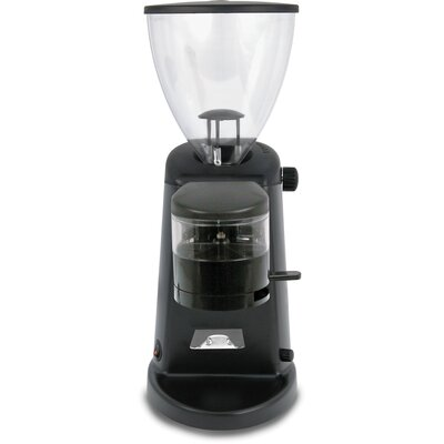 Doserless Electric Flat Burr Coffee Grinder Color: Polished Aluminum
