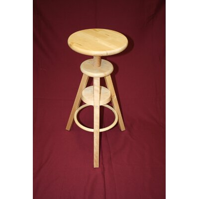 Wooden Adjustable Stool
