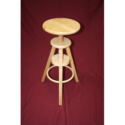 Wooden Adjustable Stool
