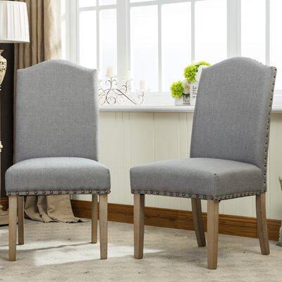 Kenleigh Urban Upholstered Dining Chair Upholstery: Gray