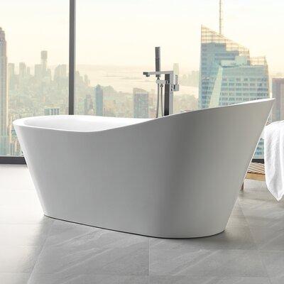 """Emely 71"""" x 32.5"""" Soaking Bathtub"""