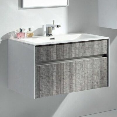"Ashy 32"" Single Bathroom Vanity Set"