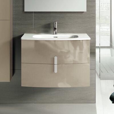 "Cali 31"" Single Bathroom Vanity Set Base Finish: Brown"
