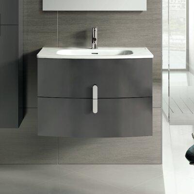 "Cali 31"" Single Bathroom Vanity Set Base Finish: Gray"