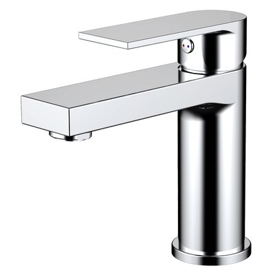 Pure Single Hole Bathroom Faucet with Drain Assembly