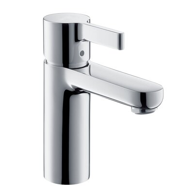 Metrix Single Hole Bathroom Faucet with Drain Assembly