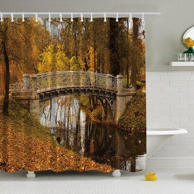 Fall View Print Shower Curtain
