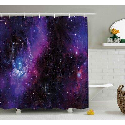 "Jeannette Shower Curtain Size: 69"" W x 70"" H"