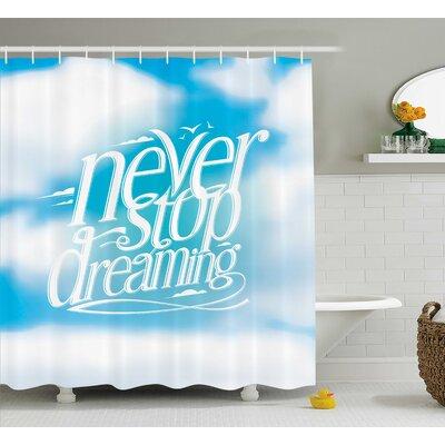 """Janie Shower Curtain Size: 69"""" W x 75"""" H"""