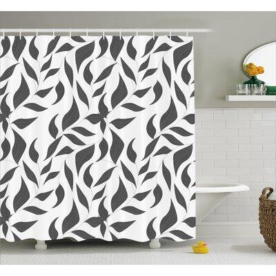 "Bates Shower Curtain Size: 69"" W x 70"" L"