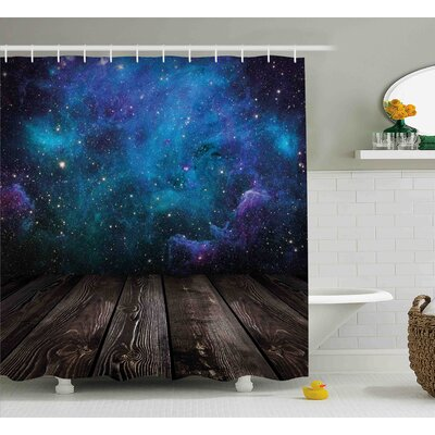 """Space from Home View Shower Curtain Size: 69"""" W x 70"""" L"""