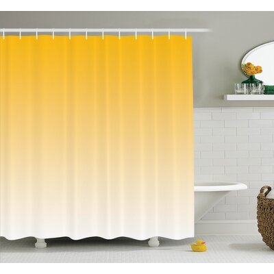 "Fred Summer Beach Lovers Shower Curtain Size: 69"" W x 84"" L"