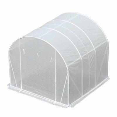 10 Ft. W x 10 Ft. D Greenhouse