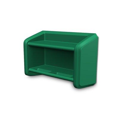 Endurance Wall Shelf Finish: Green