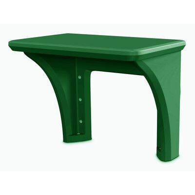 Endurance Polyethylene Shelving Unit Desk Finish: Green