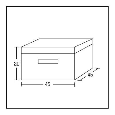 Express Möbel 2-tlg. Stoffbox De Luxe bei Solutions
