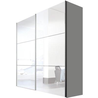 Express Möbel Schwebetürenschrank Solutions Bianco, 216 cm H x 200 cm B x 68 cm T
