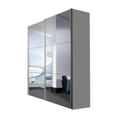 Express Möbel Schwebetürenschrank Solutions Bianco, 216 cm H x 175 cm B x 68 cm T