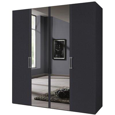 Express Möbel Drehtürenschrank Brooklyn, 216 cm H x 200 cm B