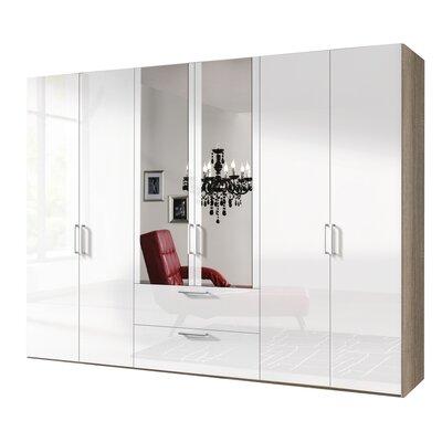 Express Möbel Drehtürenschrank Brooklyn, 216 cm H x 300 cm B