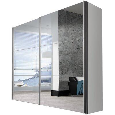 Express Möbel Schwebetürenschrank Solutions Bianco, 216 cm H x 275 cm B x 68 cm T