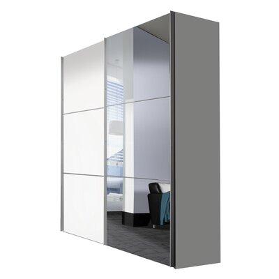 Express Möbel Schwebetürenschrank Solutions Bianco, 217 cm H x 175 cm B x 68 cm T