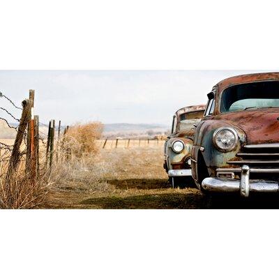 ArtAndPleasure UK Texan Cars Photographic Print Plaque