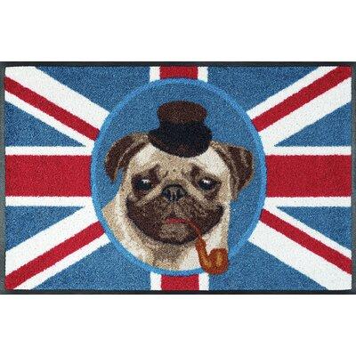Wash+dry Fußmatte British Pug