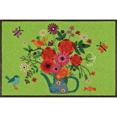 Wash+dry Fußmatte Bouquet of Flowers