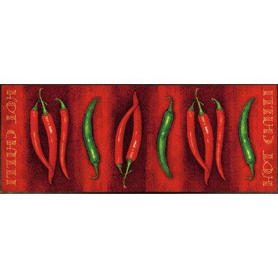 Wash+dry Fußmatte Hot Chili Design