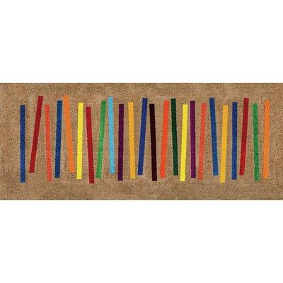 Wash+dry Fußmatte Mixed Stripes Decor
