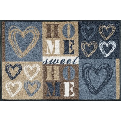 Wash+dry Fußmatte Lovely Home