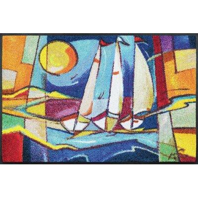 Wash+dry Fußmatte Sailing Home