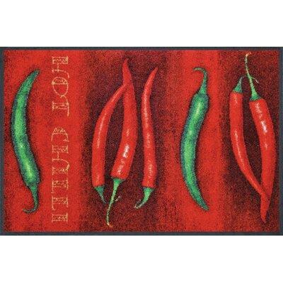 Wash+dry Fußmatte Hot Chili