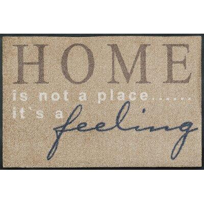 Wash+dry Fußmatte Home feeling