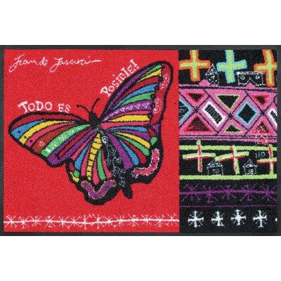 Wash+dry Fußmatte Butterfly Dreams