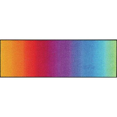 Wash+dry Fußmatte Rainbow