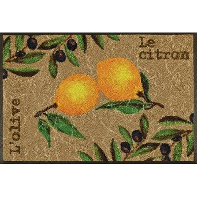 Wash+dry Fußmatte Le Citron