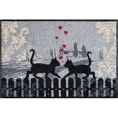 Wash+dry Fußmatte Cats in Love