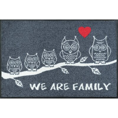 Wash+dry Fußmatte We are Family