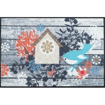 Wash+dry Fußmatte Birdies House