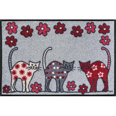 Wash+dry Fußmatte Cat Parade